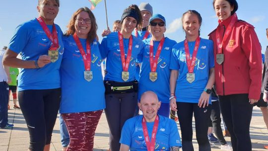 Striders Take the Roads of London in their Stride!